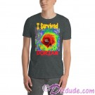 I Survived Hurricane Dorian on Dark Gray / Heather T-Shirt or Tank Top (Tshirt, T shirt or Tee) © HIPPIEWORKS