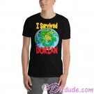 I Survived Hurricane Dorian Georgia North Carolina South Carolina on Black T-Shirt and Tank Top (Tshirt, T shirt or Tee) © HIPPIEWORKS