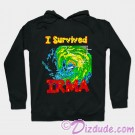 I Survived Hurricane Irma Hoodie - Sweatshirt - Long Sleeved T-shirt © Dizdude.com
