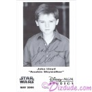 Jake Lloyd who played Young Anakin Skywalker Presigned Official Star Wars Weekends 2000 Celebrity Collector Photo © Dizdude.com