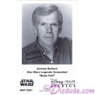 Jeremy Bulloch who played Boba Fett Presigned Official Star Wars Weekends 2001 Celebrity Collector Photo © Dizdude.com