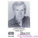 Jeremy Bulloch who played Boba Fett Presigned Official Star Wars Weekends 2000 Celebrity Collector Photo © Dizdude.com