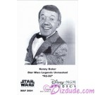 Kenny Baker who played R2-D2 Official Star Wars Weekends 2001 Celebrity Collector Photo © Dizdude.com
