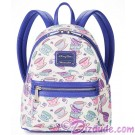 Alice in Wonderland Mad Tea Party Mini Backpack by Loungefly - Disney Parks © Dizdude.com