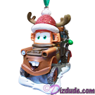 "Front of Disney Pixar ""Cars"" Mater Christmas Ornament © Dizdude.com"
