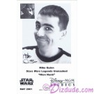 Mike Quinn who performed Nien Nunb Presigned Official Star Wars Weekends 2001 Celebrity Collector Photo © Dizdude.com