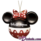 Disney Minnie Mouse Ears Christmas Tree Ornament © Dizdude.com