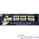 Walt Disney World Parking Lot Tram 4 Piece Die Cast Metal Set ~ Monorail Accessory © Dizdude.com