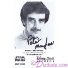 Peter Mayhew who played Chewbacca Presigned Official Star Wars Weekends 2000 Celebrity Collector Photo © Dizdude.com