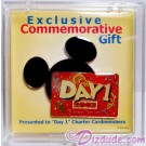 Exclusive Commemorative Disney Visa Card - Day 1 Pin 2003 Member LE © Dizdude.com