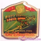 Walt Disney World Something New in Every Corner Press Set - Magic Kingdom Park / Buzz Lightyear's Space Ranger Spin Pin LE 1200 © Dizdude.com