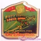 Walt Disney World Something New in Every Corner Press Set - Magic Kingdom Park / Buzz Lightyear's Space Ranger Spin Pin LE 1200 © Dizdude.com