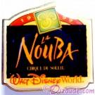 Walt Disney World Something New in Every Corner Press Set - La Nouba - Cirque du Soleil Pin LE 1200 © Dizdude.com
