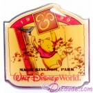 Walt Disney World Something New in Every Corner Press Set - Magic Kingdom Park / Winnie the Pooh Pin LE 1200 © Dizdude.com