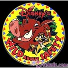 Disney's Wild About Safety Logo Pin with Timon & Pumba © Dizdude.com