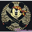 Walt Disney World Cast Lanyard Series 2 ~ Pirates - Mickey Pin © Dizdude.com