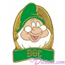 Disney Snow White and the Seven Dwarfs Video & DVD Release - Doc Pin © Dizdude.com