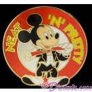 Walt Disney World Third Quarter 2001 Flex Pin - Mickey Neat 'n' Pretty © Dizdude.com
