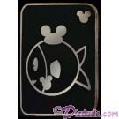 Walt Disney World - Hidden Mickey Series III - Fish With Mouse Ears Pin © Dizdude.com