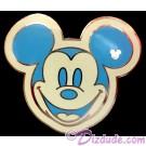 Walt Disney World - Hidden Mickey Series III - Colorful Mickeys - Blue Pin © Dizdude.com