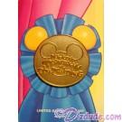 Walt Disney World Mickey's Toontown Pin Trading Event - Blue Ribbon Pin LE 1000 © Dizdude.com