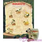 Walt Disney World Animal Kingdom - Mickey's Pin Adventure 2002 Pin-board with Mickey Mouse Completer Pin © Dizdude.com