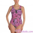 Pink Pentas All Over Print Ladies Swimsuit © Hippieworks