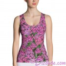 Pink Pentas All Over Print Ladies Tank Top © Hippieworks