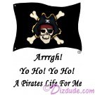 Pirates Life T-Shirt or Tank Top  © Hippieworks