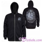 Pirate Ship Adult Zip Hoodie Printed Front and Back - Disney's Pirates of the Caribbean © Dizdude.com