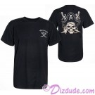 Disney's Pirates of the Caribbean Adult T-shirt (Tee, Tshirt or T shirt) Printed Front and Back