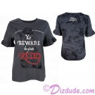Disney's Pirates of the Caribbean Beware Pirate Redd Ladies Ruffle T-shirt (Tee, Tshirt or T shirt)