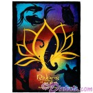 Rivers Of Light Fleece Throw Blanket ~ Disney Animal Kingdom © Dizdude.com