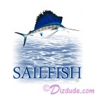 Sailfish T-Shirt or Tank Top © Hippieworks