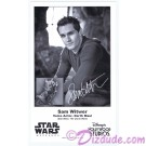 Sam Witwer the voice of Darth Maul Presigned Official Star Wars Weekends 2013 Celebrity Collector Photo © Dizdude.com