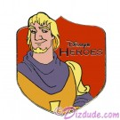 Walt Disney World - Cast Lanyard Series 1 - Disney's Heroes - Phoebus Pin © Dizdude.com