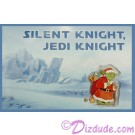 "Disney Star Wars ""Silent night Jedi Knight"" Santa Yoda Greeting Card & Pin Limited Release - Theme Park Exclusive © Dizdude.com"