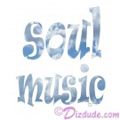 Soul Music T-Shirt or Tank Top (Tshirt, T shirt or Tee) © HIPPIEWORKS