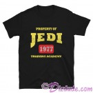 Vintage Star Wars Property of Jedi Training Academy 1977 T-Shirt (Tshirt, T shirt or Tee) © Dizdude.com