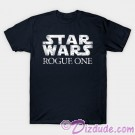 Vintage Star Wars Rogue One Logo Adult T-Shirt (Tshirt, T shirt or Tee) - Disney's Star Wars