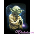 Vintage Star Wars Yoda Galaxy-Background T-Shirt (Tshirt, T shirt or Tee) © Dizdude.com