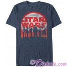 SOLO A Star Wars Story Distressed Character Lineup Adult T-Shirt (Tshirt, T shirt or Tee)  © Dizdude.com