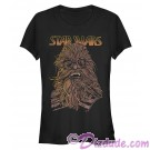 SOLO A Star Wars Story Cartoon Chewie Juniors T-Shirt (Tshirt, T shirt or Tee)  © Dizdude.com