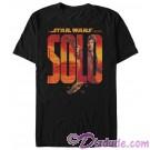 SOLO A Star Wars Story Han Logo Adult T-Shirt (Tshirt, T shirt or Tee)  © Dizdude.com
