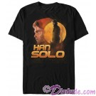SOLO A Star Wars Story HAN SOLO Adult T-Shirt (Tshirt, T shirt or Tee)  © Dizdude.com