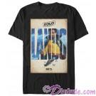 SOLO A Star Wars Story Lando Poster Adult T-Shirt (Tshirt, T shirt or Tee)  © Dizdude.com