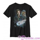 SOLO A Star Wars Story Han & Chewie Millennium Falcon Pilots Adult T-Shirt (Tshirt, T shirt or Tee)  © Dizdude.com