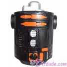 Black & Orange Astromech Droid Body ~ Series 2 from Disney Star Wars Build-A-Droid Factory © Dizdude.com