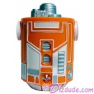 Orange Astromech Droid Body ~ Series 2 from Disney Star Wars Build-A-Droid Factory © Dizdude.com