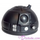 Black Astromech Droid Dome ~ Series 2 from Disney Star Wars Build-A-Droid Factory © Dizdude.com